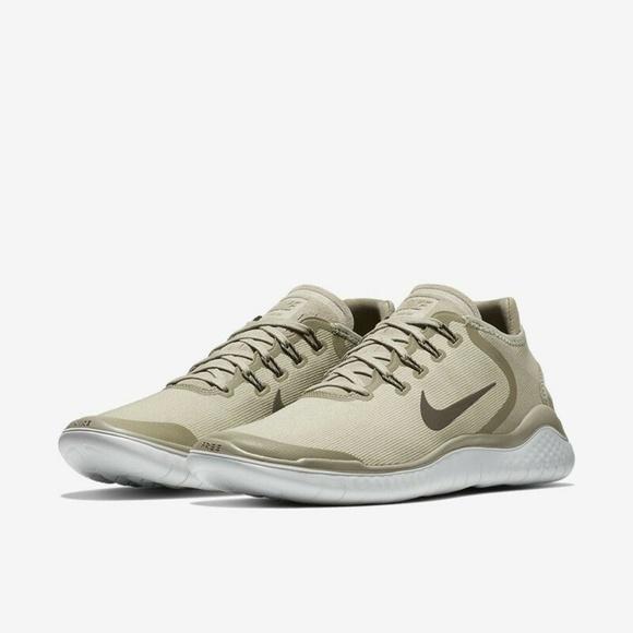 Nike Free RN 2018 Men's Running Shoe Khaki